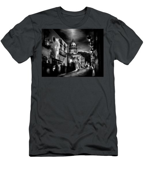 Street To The Nun's Church Men's T-Shirt (Athletic Fit)