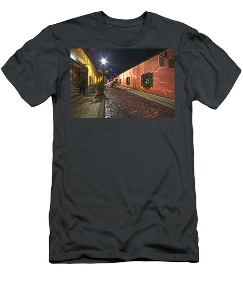 Streets Of St Augustine Men's T-Shirt (Athletic Fit)