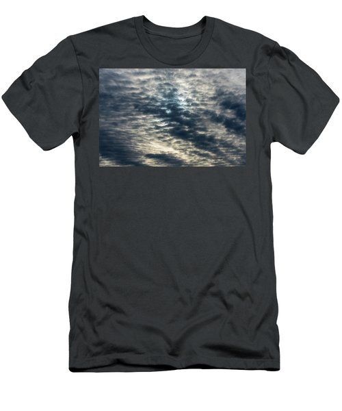 Striated Clouds Men's T-Shirt (Athletic Fit)