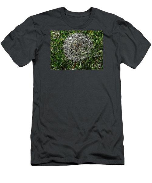 String Theory Dandelion Men's T-Shirt (Slim Fit) by Craig Walters
