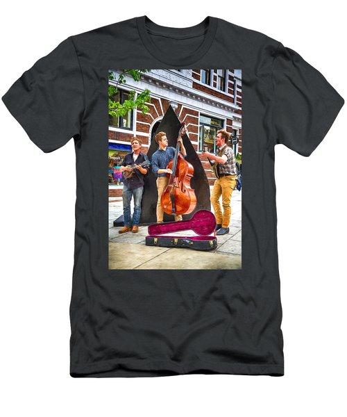 String Trio Men's T-Shirt (Slim Fit) by John Haldane