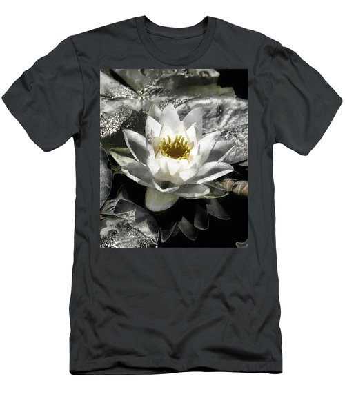 Strokes Of The Lily Men's T-Shirt (Athletic Fit)