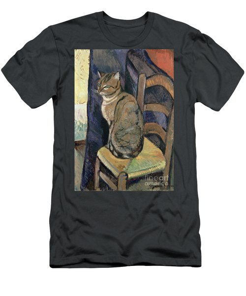 Study Of A Cat Men's T-Shirt (Athletic Fit)