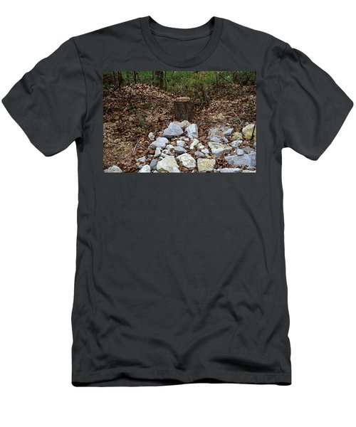 Men's T-Shirt (Athletic Fit) featuring the photograph Stumped by W And F Kreations