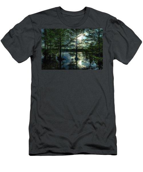 Stumpy Lake Men's T-Shirt (Athletic Fit)
