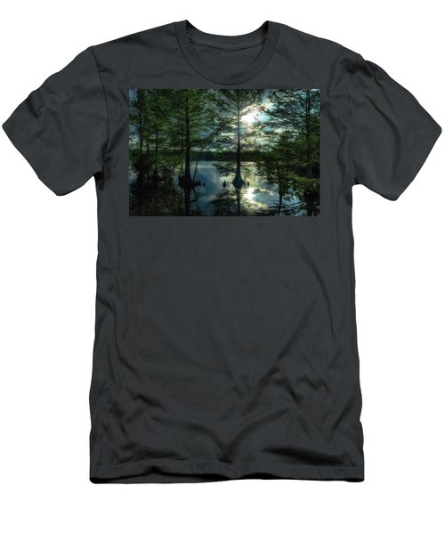 Stumpy Lake Men's T-Shirt (Athletic Fit)