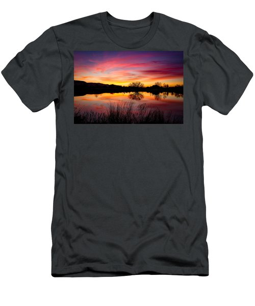 Stunning Pink Sunset Men's T-Shirt (Athletic Fit)