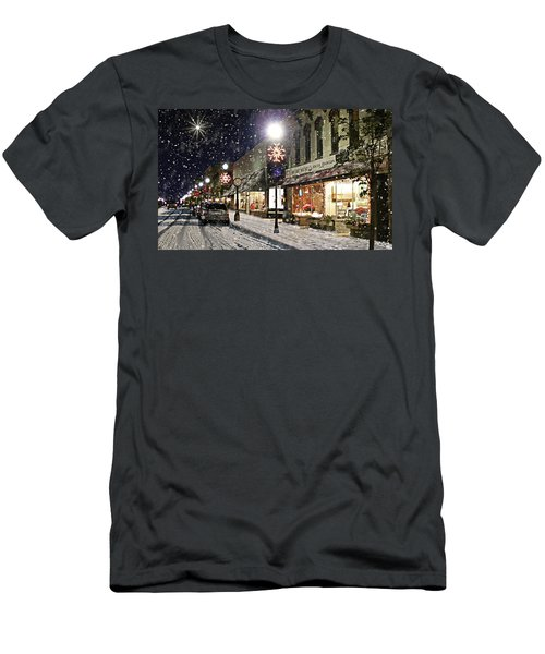 Sturgeon Bay On A Magical Night Men's T-Shirt (Athletic Fit)