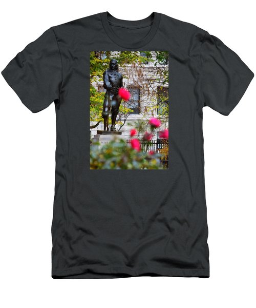 Stuyvesant Square Park Nyc  Men's T-Shirt (Athletic Fit)