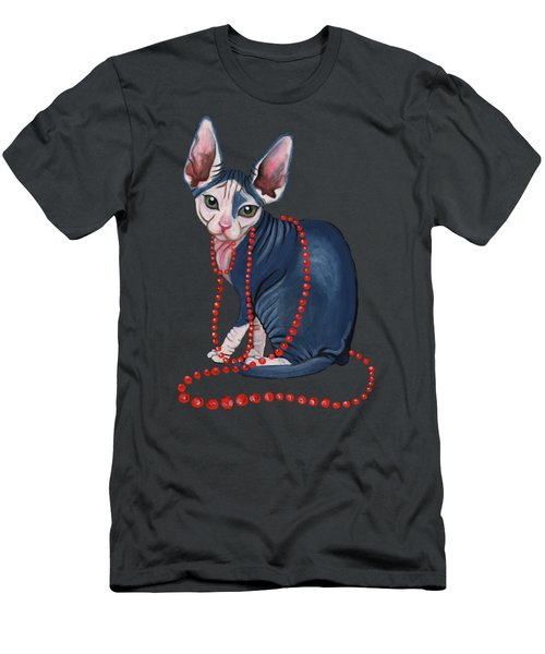 Stylish Sphynx Men's T-Shirt (Athletic Fit)