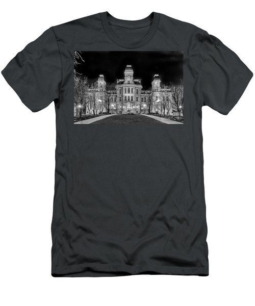 Su Hall Of Languages Men's T-Shirt (Athletic Fit)