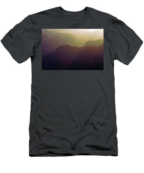 Subtle Silhouettes Men's T-Shirt (Athletic Fit)