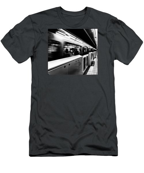 Subway Men's T-Shirt (Slim Fit) by Hayato Matsumoto