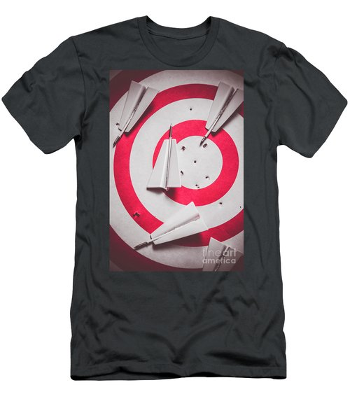 Success And Failures. Business Target Men's T-Shirt (Athletic Fit)