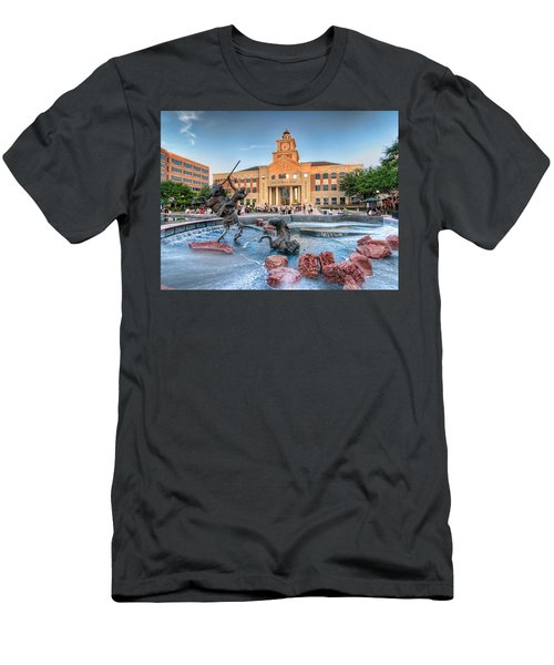 Sugar Land Town Center Men's T-Shirt (Athletic Fit)