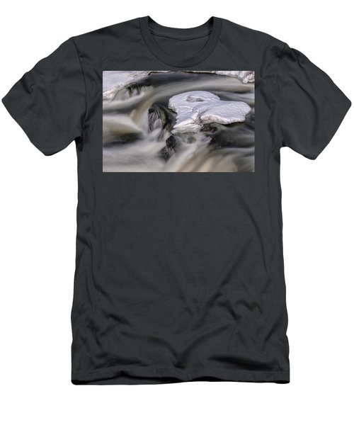 Men's T-Shirt (Athletic Fit) featuring the photograph Sugar River Flowing by Tom Singleton