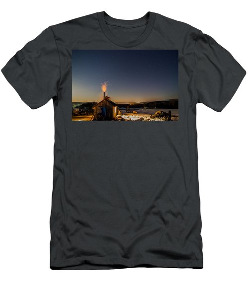 Sugaring View With Stars Men's T-Shirt (Slim Fit) by Tim Kirchoff