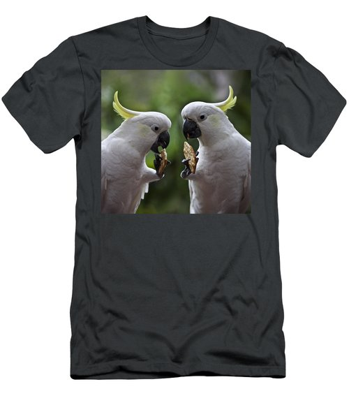 Sulphur Crested Cockatoo Pair Men's T-Shirt (Athletic Fit)