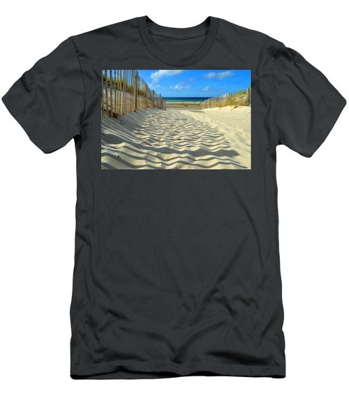Sultry September Beach Men's T-Shirt (Athletic Fit)
