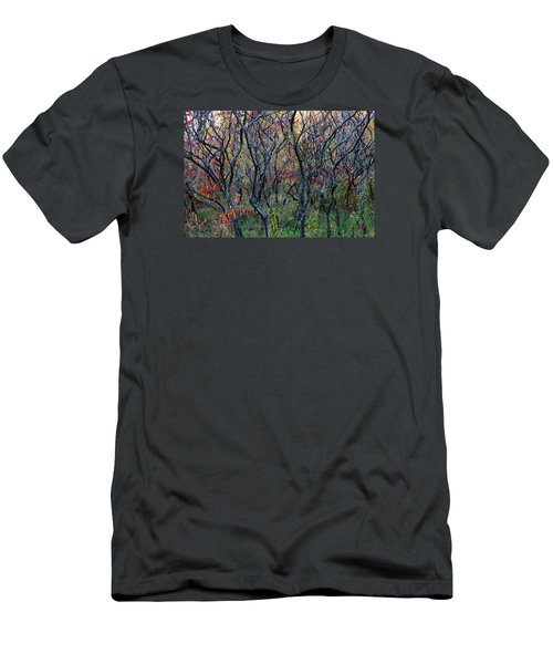 Sumac Grove Men's T-Shirt (Slim Fit) by Steven Clipperton