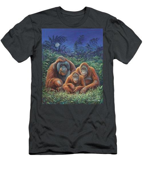 Sumatra Orangutans Men's T-Shirt (Slim Fit) by Hans Droog