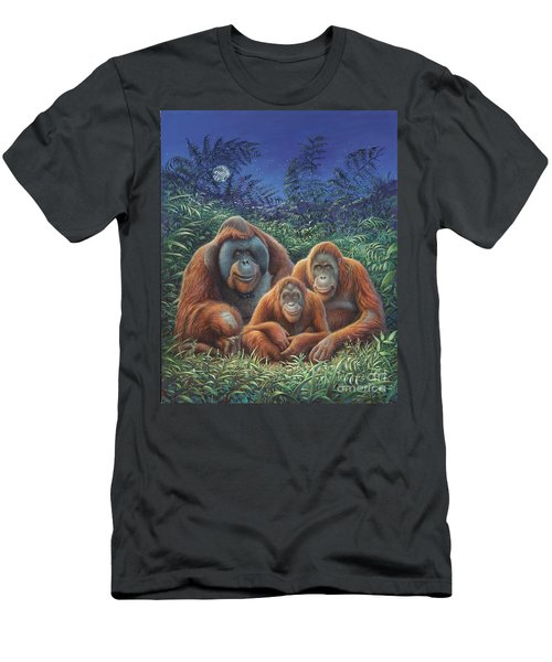 Sumatra Orangutans Men's T-Shirt (Athletic Fit)
