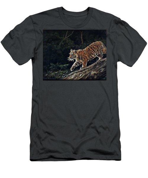 Sumatran Cub Men's T-Shirt (Athletic Fit)