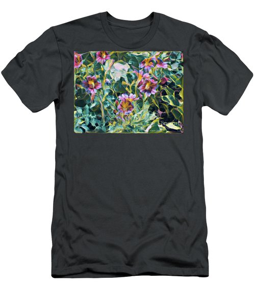 Summer Blossoms Men's T-Shirt (Athletic Fit)