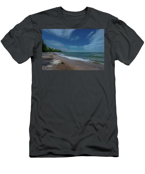 Summer Breeze  Men's T-Shirt (Athletic Fit)
