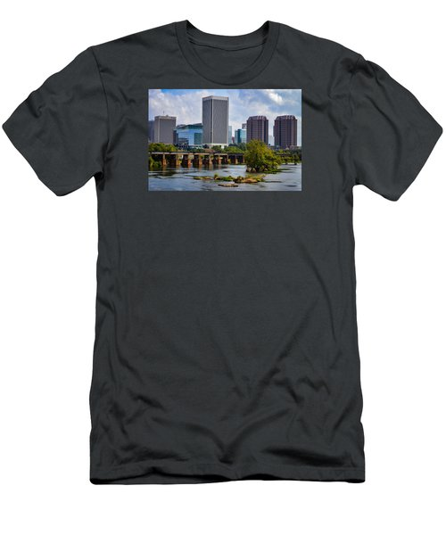 Summer Day In Rva Men's T-Shirt (Athletic Fit)