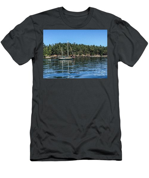 Summer In The San Juan's Men's T-Shirt (Slim Fit) by William Wyckoff
