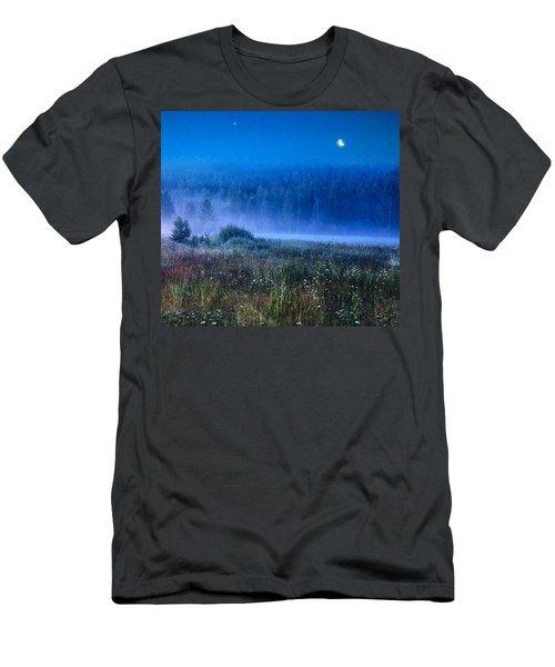 Summer Night Men's T-Shirt (Slim Fit) by Vladimir Kholostykh