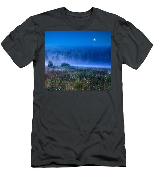 Summer Night Men's T-Shirt (Athletic Fit)
