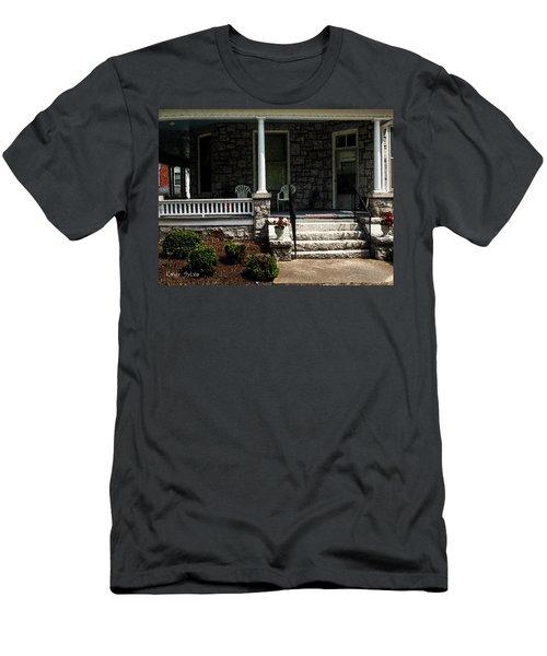 Summer Porch Men's T-Shirt (Athletic Fit)
