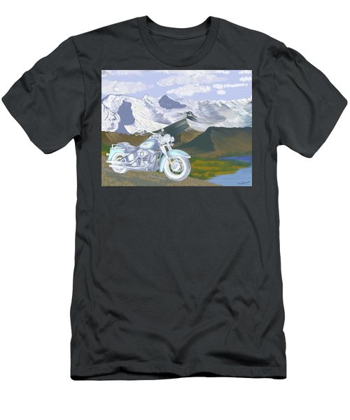 Summer Ride Men's T-Shirt (Slim Fit) by Terry Frederick