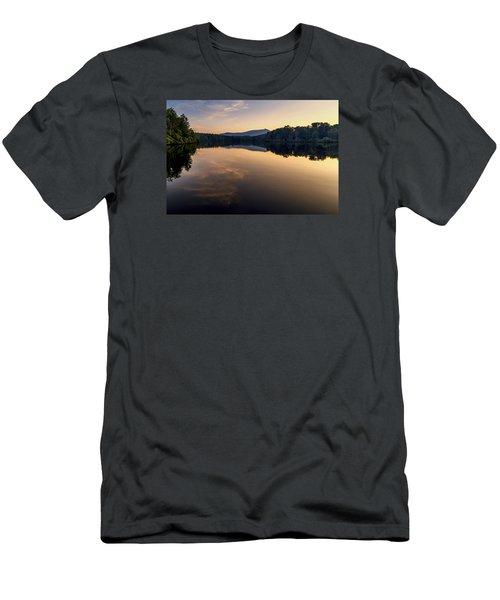 Price Lake Sunset - Blue Ridge Parkway Men's T-Shirt (Athletic Fit)