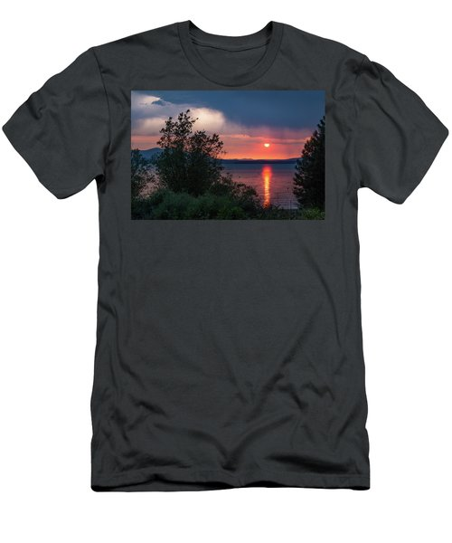 Men's T-Shirt (Slim Fit) featuring the photograph Summer Storm by Jan Davies