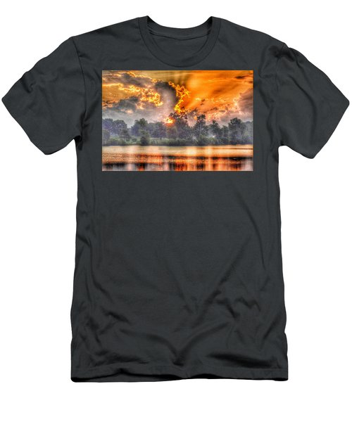 Summer Sunrise Number 1 - 2019 Men's T-Shirt (Athletic Fit)