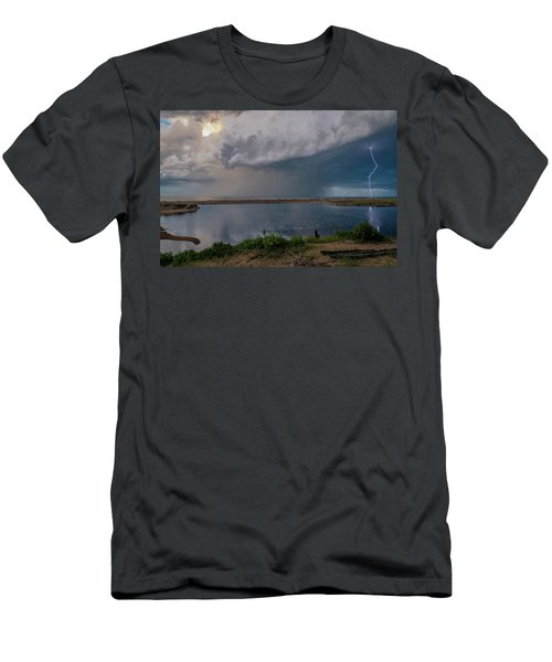 Summer Thunderstorm Men's T-Shirt (Athletic Fit)