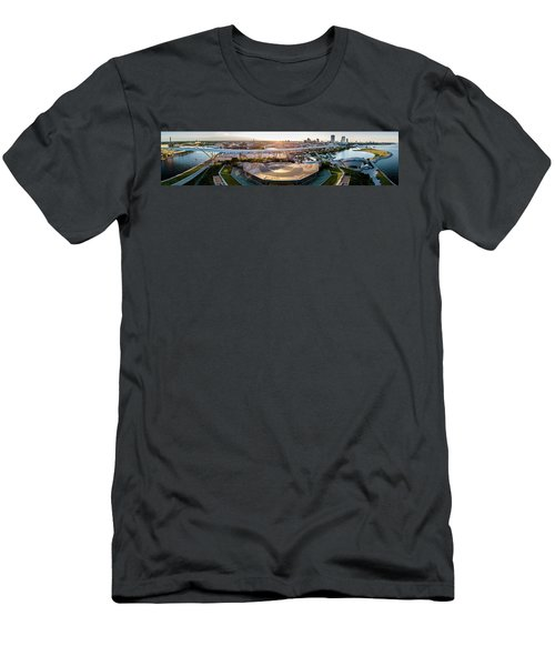 Summerfest Sunset Men's T-Shirt (Athletic Fit)