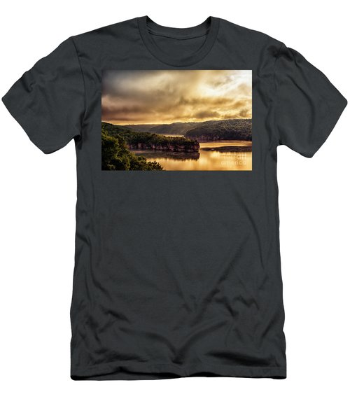 Summersville Lake At Daybreak Men's T-Shirt (Athletic Fit)