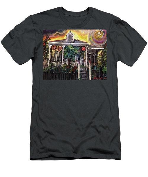 Summertime New Orleans Men's T-Shirt (Athletic Fit)