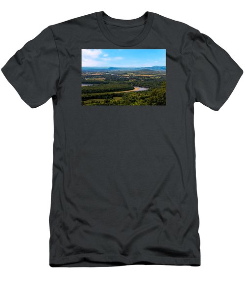 Summit House View Men's T-Shirt (Athletic Fit)