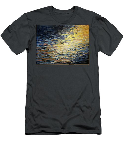 Sun And Wind On Water Men's T-Shirt (Athletic Fit)