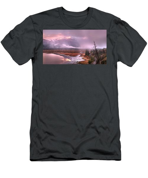 Men's T-Shirt (Slim Fit) featuring the photograph Sun Dance by John Poon