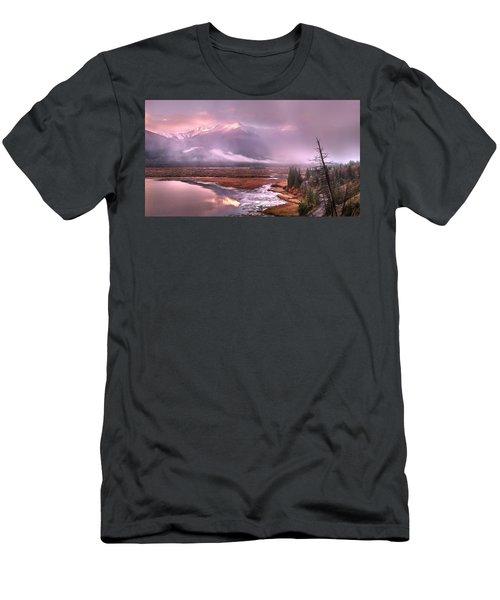 Sun Dance Men's T-Shirt (Athletic Fit)