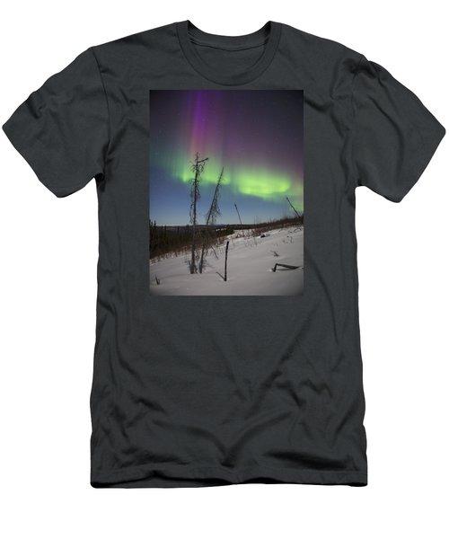 Sun-kissed Aurora Men's T-Shirt (Athletic Fit)