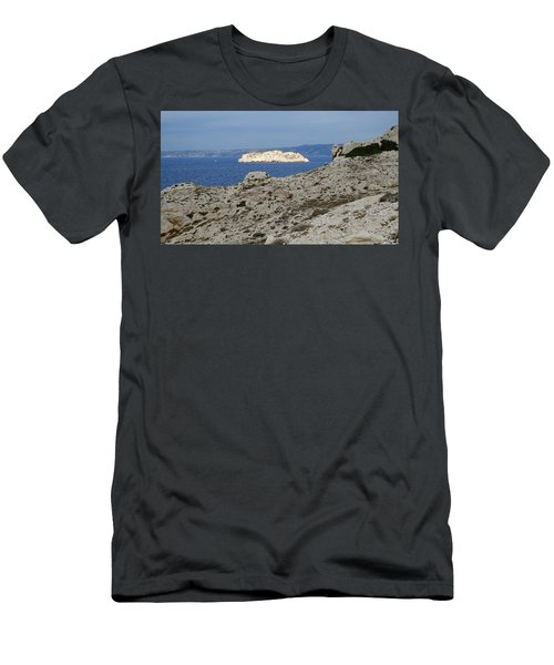 Sun Kissed Island Men's T-Shirt (Athletic Fit)