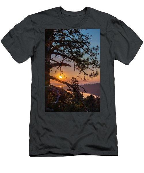 Sun Ornament Men's T-Shirt (Athletic Fit)