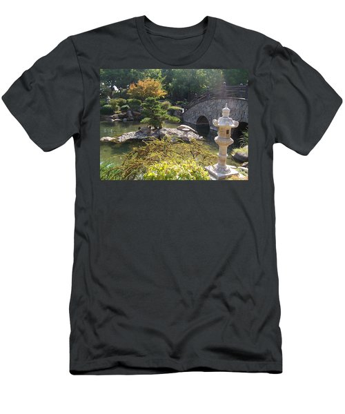 Sun Over Bonsai Men's T-Shirt (Athletic Fit)